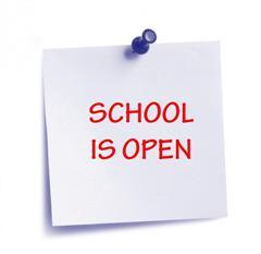 School open tomorrow October 18th