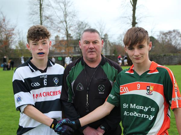 Under 14 footballers pipped in the last minutes in titanic struggle!