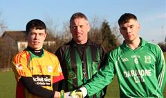 Senior Footballers win first round of Leinster Championship!