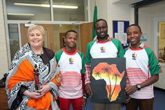Young Scientists Tanzania visit St. Mary's Academy - CBS Carlow