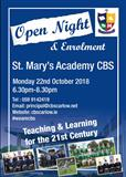 St. Mary's Academy CBS - Open Night