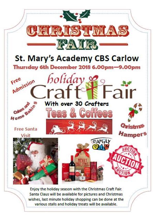 St. Mary's Academy CBS - Christmas Fair