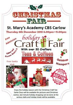 St. Mary's Academy CBS - Christmas Fair