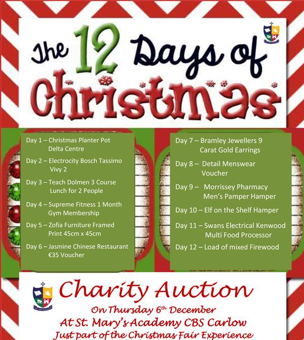 Christmas Fair - Auction Items
