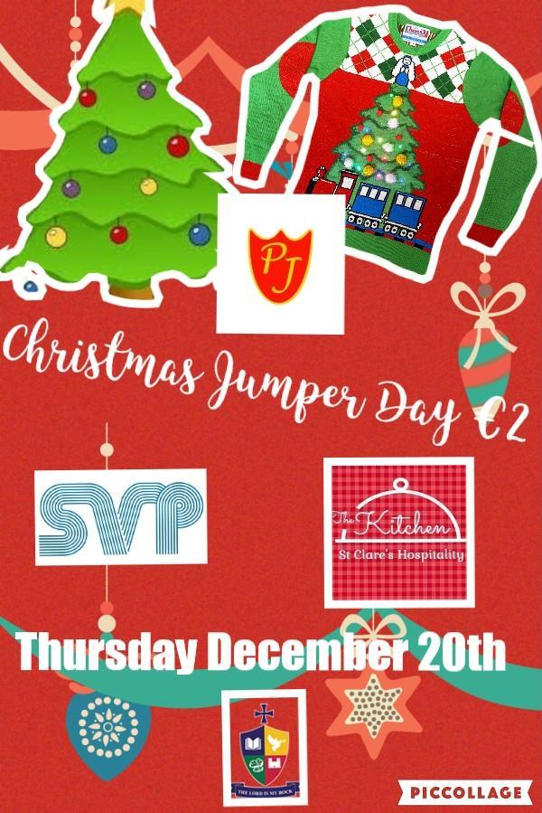 St. Mary's Academy CBS Christmas Jumper Day