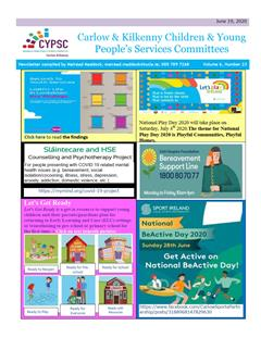 Carlow & Kilkenny Children & Young People's Services Committees Newsletter
