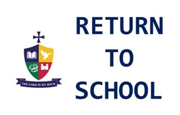 Letter to Parents / Guardians from the Principal - 14th August 2020 including FAQ About the Return to School & Calendar for Return to School