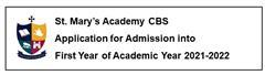 Applications for Enrolment into 1stYear - Academic Year 2021-2022