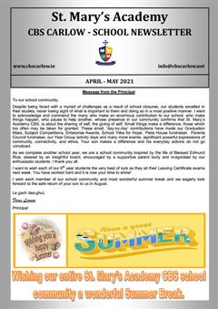 School Newsletter April - May 2021